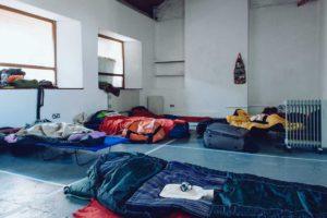 Jamboree#1: Laurie Lax - Sleeping on a gallery floor